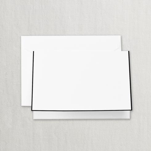 $20.00 Black Bordered Pearl White Note