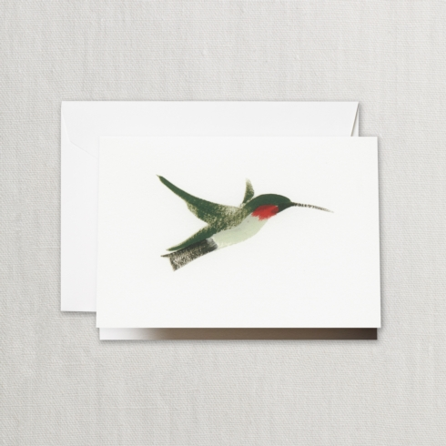 $17.00 Brushstroke Hummingbird Note