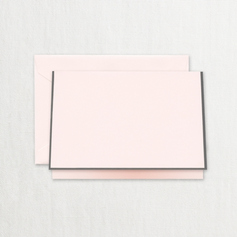 $20.00 Charcoal Bordered Pink Note