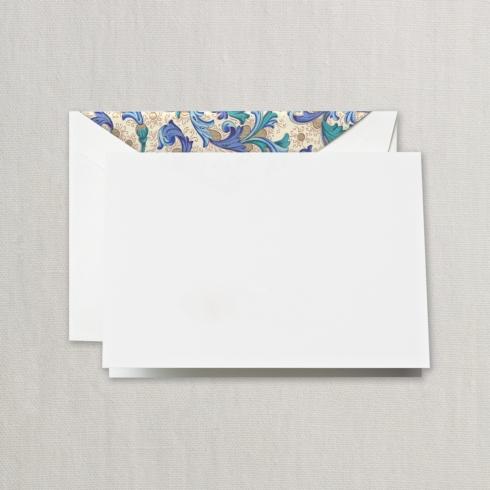 $20.00 Blue Florentine Note