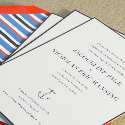 $13.76 Engraved Embassy Regatta Wedding Invitation. From $3.82 | per card. Call for price.