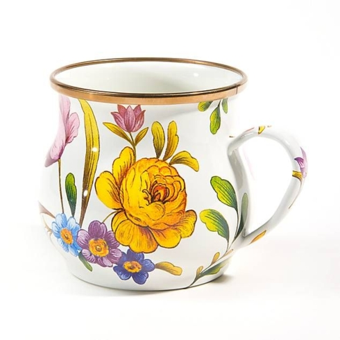 $40.00 FLOWER MARKET MUG - WHITE