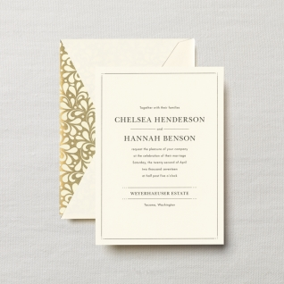 $7.32 Embassy Lafayette Wedding   Invitation . From $3.23 | per card. Call for price.