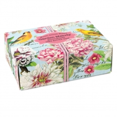 $6.50 GARDEN MELODY BOX SOAP