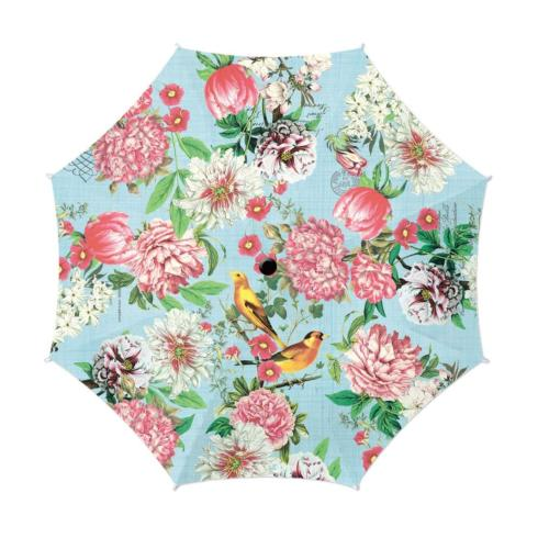$40.00 GARDEN MELODY TRAVEL UMBRELLA
