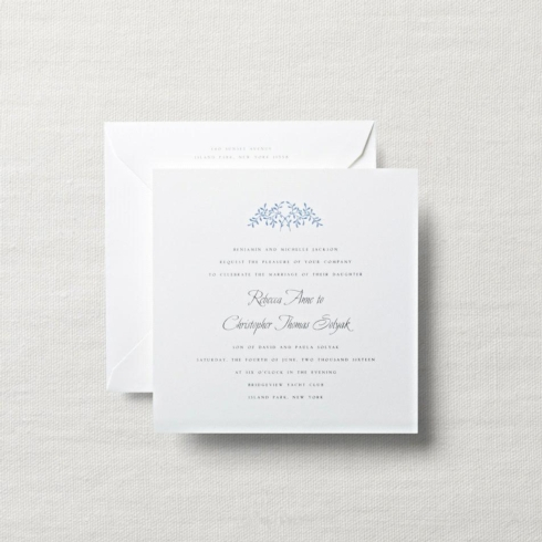 $10.32 Duchess Wedding Invitation with Branches