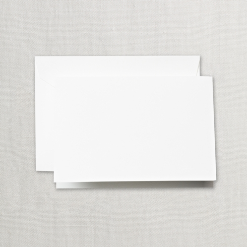 $14.00 Pearl White Folded Note