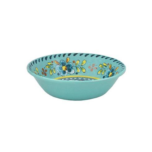 $15.75 Madrid turquoise cereal bowl