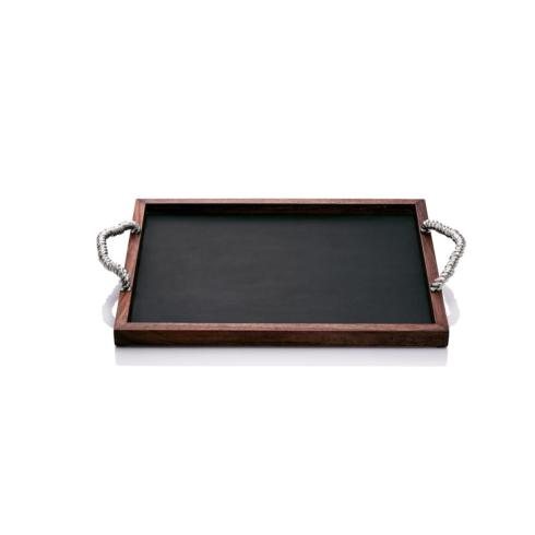 Michael Aram  Rope Rope Cocktail Tray  $225.00