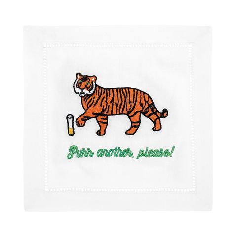$40.00 Purr Me Another Cocktail Napkins