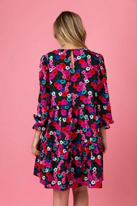 $134.00 Sugarplum Forest, Kirby Dress, S