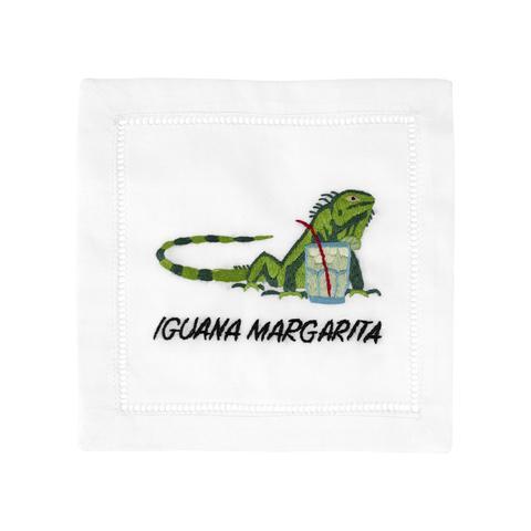 $40.00 Iguana Margarita Cocktail Napkins set/4