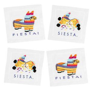 $40.00 Fiesta Siesta Cocktail Napkins set/4
