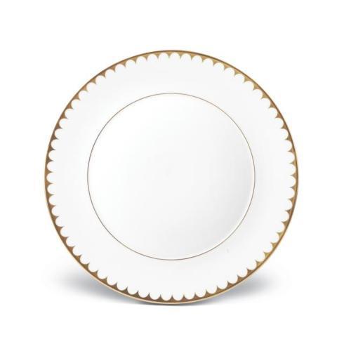 L'Objet   Aegean Filet Gold Dinner Plate $132.00