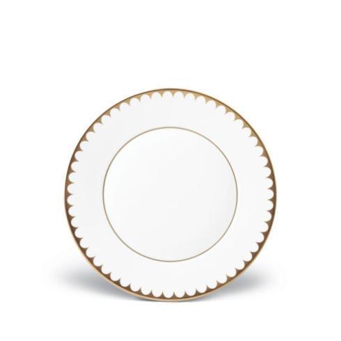 L'Objet   Aegean Filet Gold Dessert Plate $112.00