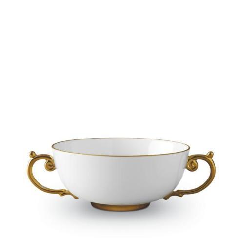 L'Objet   Aegean Gold Soup Bowl $200.00