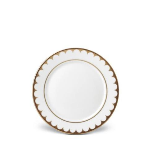 $56.00 Aegean Filet Gold Bread Plate