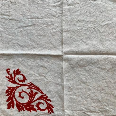 Acanto Rosso Napkin collection with 1 products