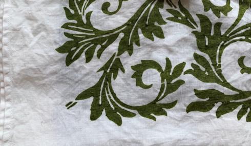 $25.00 Acanto Verde Cimabue Dish Towel