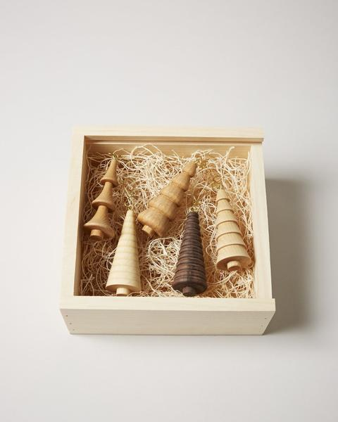 $125.00 Crafted Woodland Ornament Gift Set