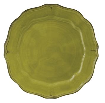 $18.50 Basque Olive Dinner Plate