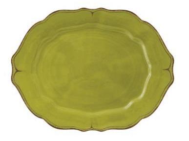 """$35.75 Basque Olive 16"""" Oval Platter"""