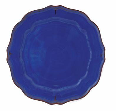 $18.50 Basque Provence Blue Dinner Plate