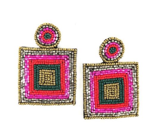 $66.00 Carrie Earrings