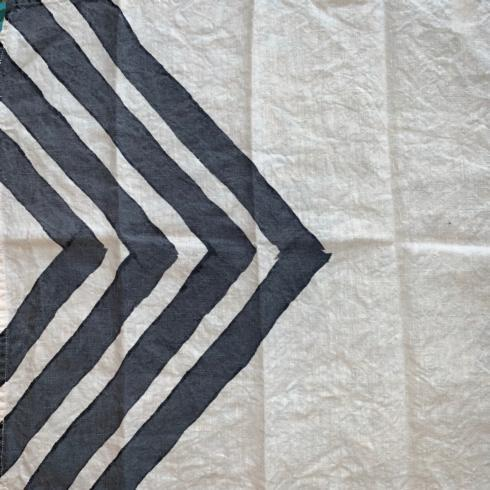 Chevrons Dipinto Antracite Napkin collection with 1 products