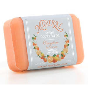 $8.25 corsican tangerine classic bar soap