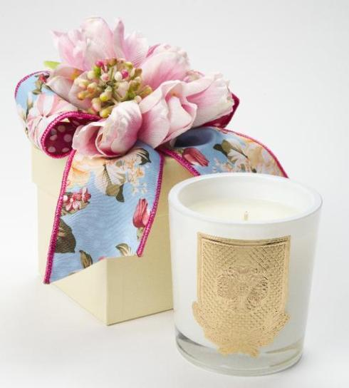 Spring Mille Fleur Flower Box Candle 8oz. collection with 1 products