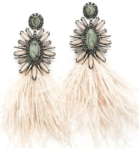 $96.00 Floral Feathers