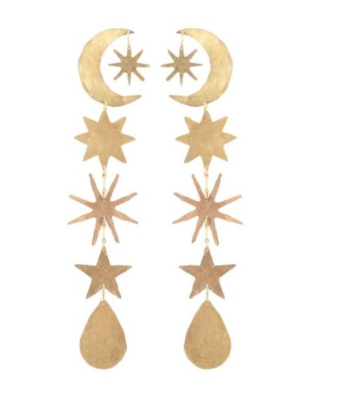 $295.00 Gold Magic Hour Earrings