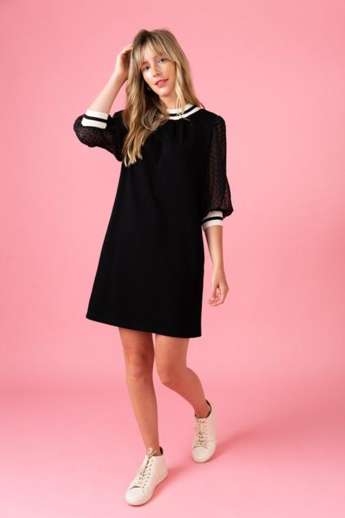 $129.00 Black, Harrison Dress, XL