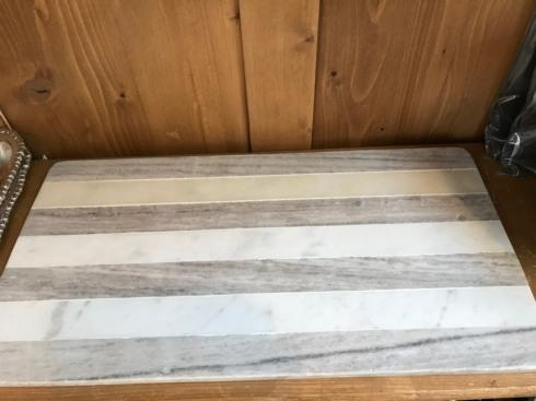 Serendip Exclusives   21x11 Marble Cutting Board $68.00