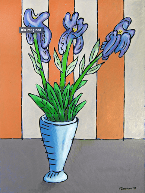 Iris Imagined by Paul Harmon collection with 1 products