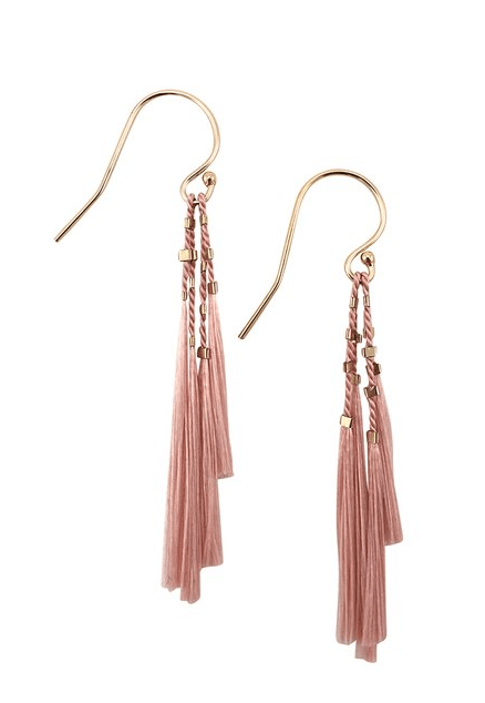 $68.00 Kiki Earrings - Blush
