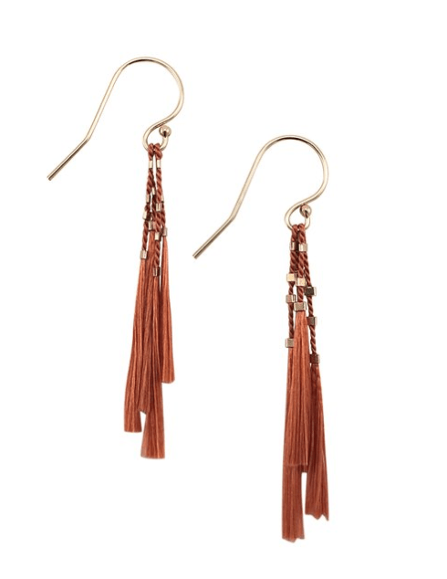 $68.00 Kiki Earrings - Clay