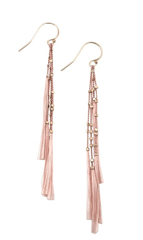 $86.00 Lala Earrings - Blush