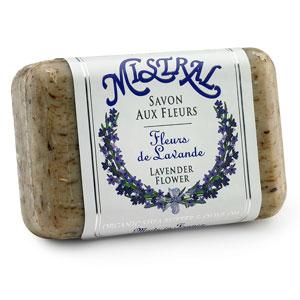 $8.25 lavender flower classic bar soap