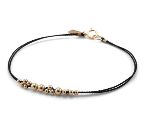 $44.00 Leo Minor Bracelet - Black