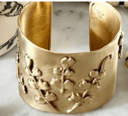 $407.10 Maiden Hair Fern Cuff