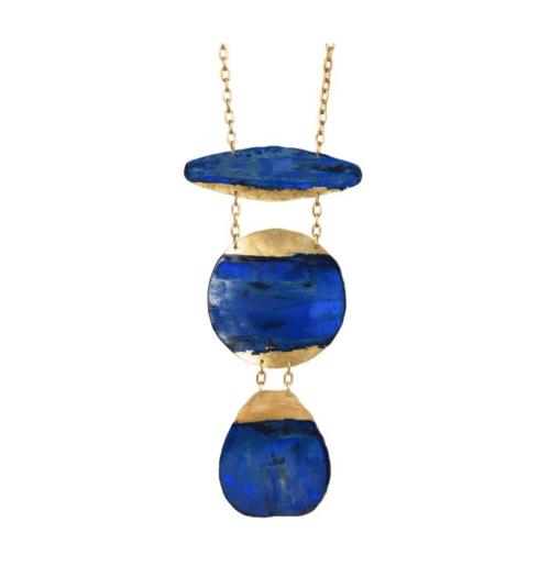 $180.00 Navy Inika Necklace