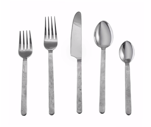 $99.00 Orleans 5 Piece Flatware Set