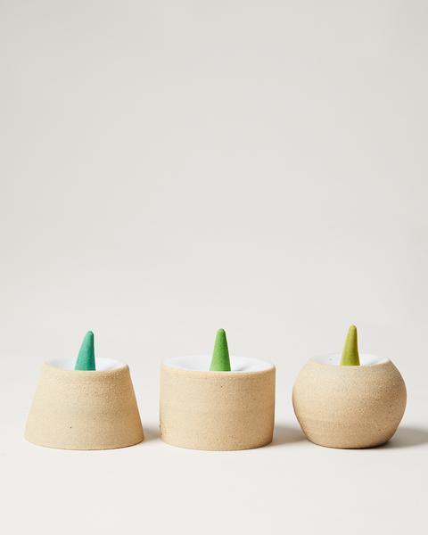 $55.00 Cone Incense Pedestal w/ Citronella