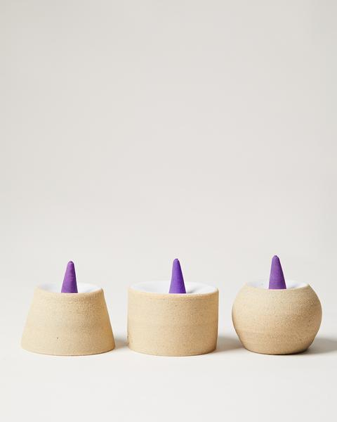 Cylinder Incense Pedestal w/ Lavender collection with 1 products