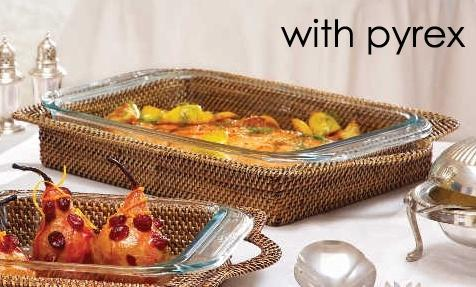 Rectangular Pyrex Holder With Pyrex Bakeware 3qt collection with 1 products
