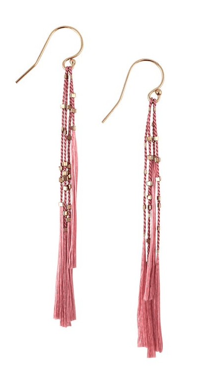 $86.00 Lala Earrings - Peony