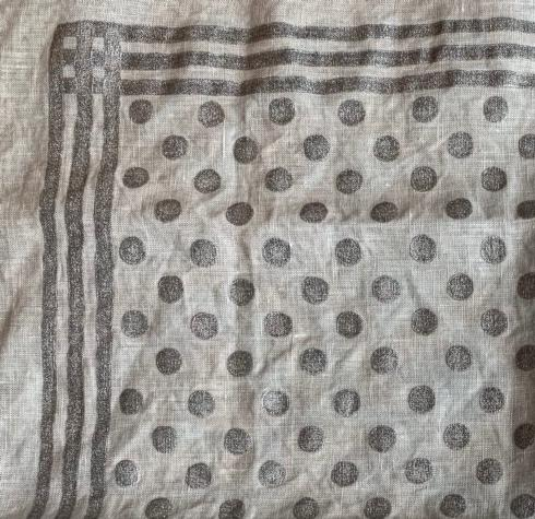 $122.00 Pois Pieno Argento Table Runner MD