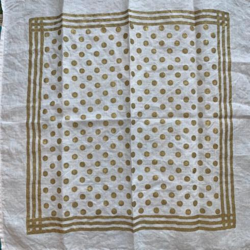 Pois Pieno Oro Napkin  collection with 1 products